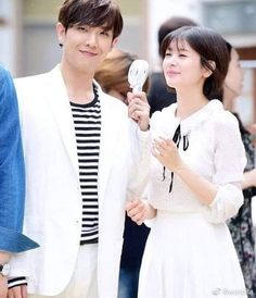 Bellos 💖 #LeeJoon #JungSoMin Jung So Min, Lee Joon, Kim Ji Won, Park Shin Hye, Famous Couples, Korean Star, Korean Celebrities, Asian Actors, Beautiful Couple