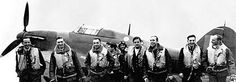 Polish Battle of Britain pilots of the famous 303 Squadron based at RAF Northolt