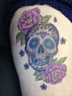 Image result for mexican skull day of the dead tattoo