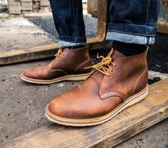 """""""The weekend is a mindset, not a part of the week! The Weekender Chukka 3322 is light, casual, and flexible. A 7-day weekend for your feet. Seize the day…"""""""