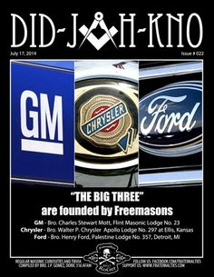 The big 3 founded by freemasons