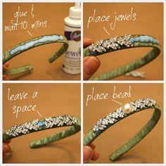 DIY Jeweled bracelet