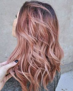 How to Get the Rose Gold Hair Filling Your Instagram Feed   StyleCaster