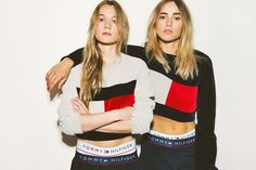 The Waterhouse sisters front the the relaunch of the iconic Nineties designs