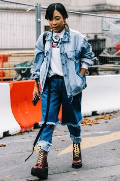 Not sure how to layer a denim jacket this winter? We've got you covered with 15 fresh new outfit ideas. Get inspired inside.