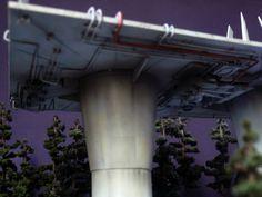 Endor Imperial Landing Port (Under View) by どろぼうひげ