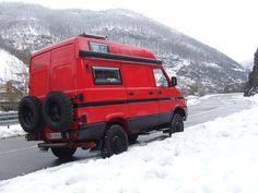 Iveco Daily 4x4 camper by Uro-Camper (Spain)
