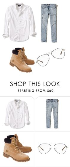 """Heonwoo"" by uniduckface on Polyvore featuring Banana Republic, Hollister Co., Off-White, Ray-Ban, men's fashion and menswear"