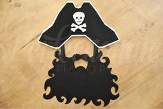 Pirate Captain Hat and Beard is the perfect all-in-one prop! Includes all…