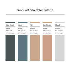 15 More Minimalist Color Palettes to Jump Start Your Creative Business — Jordan Prindle Designs Rustic Color Palettes, House Color Palettes, Pantone Colour Palettes, Rustic Colors, Pantone Color, Rgb Palette, Blue Colour Palette, Colour Schemes, Adobe Color Palette