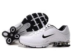 outlet store 14c69 5082a NIKE SHOX EXPERIENCE MEN S RUNNING SHOE WHITE BLACK SALE  80.64 Buy Nike  Shoes, Discount