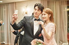 Kdrama: Touch your heart Dong - wook is Kwon Jung - rok In Na is Oh Yoon Seo Wgm Couples, Cute Couples, Goblin, Lee Dong Wok, Yoon Seo, Best Kdrama, Yoo In Na, Park Min Young, We Get Married