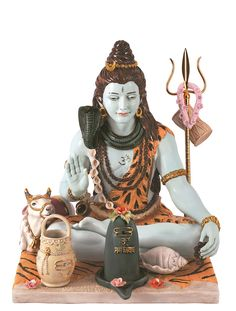 This Shivratri Gift your loved ones, Idol of Lord Shiva made of Porcelain and 24 caret Gold plated!!! Only available at Ekaani. #happyshivratri #homedecor #lordshiva #ekaani