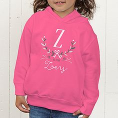 Z is for Zoey Personalized Girls Clothes - Girly Chic - 15435