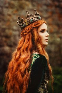 Your place to buy and sell all things handmade hair poses – Hair Models-Hair Styles Celtic Goddess, Photo Portrait, Fantasy Photography, Medieval Fantasy, Medieval Hair, Belle Photo, Redheads, Character Inspiration, Character Design