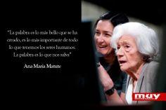 10 frases geniales de Ana María Matute: http://www.muyinteresante.es/cultura/arte-cultura/articulo/10-frases-celebres-de-ana-maria-matute-911403696810 #frases #quotes