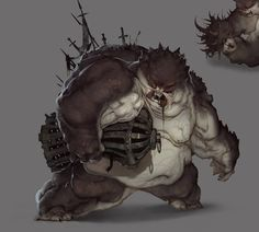 Monsters_lunch, Raw Hide on ArtStation at https://www.artstation.com/artwork/monsters_lunch