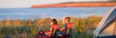 Find information on options for staying overnight in Prince Edward Island National Park. Stay Overnight, Prince Edward Island, Campers, National Parks, Sunset, Travel, Sunsets, Trips, Recreational Vehicles