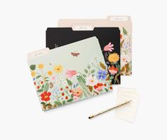 Strawberry Fields Assorted File Folders | Rifle Paper Co.