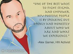 One of the best ways to fight stigma and empower HIV-positive people is by speaking out openly and honeatly about who we are and what we experience. -Alex Gamer #respectaids #zerodiscrimination
