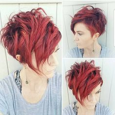 Short Hair 💇 Pixie Cut Boston On Instagram: U201cGive Me A Double Tap And Your  Favorite Red Emoji If Love This Style By @hairbybradee.