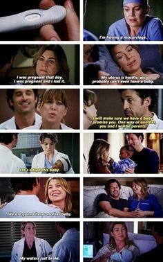 Derek & Meredith + babies