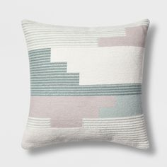 Bring an artistic touch to your decor with this Southwest Geo Square Throw Pillow from Project Green Throw Pillows, Floor Pillows, Cricut, Support Pillows, Perfect Pillow, Pillow Set, Pillow Fight, Pillow Talk, Boho