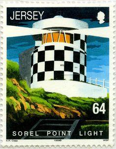 Faros y boyas: Faro Sorel Point: Jersey. 1999