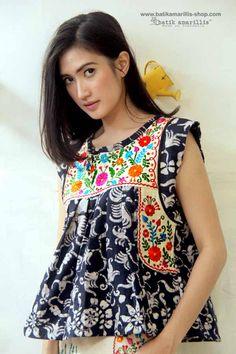Batik Amarillis   ...Made in Indonesia  ... Mexican folk art inspired