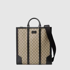 Gucci - GG Supreme tote $1,730 I think this will be my new travel tote.