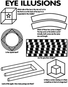 1000+ images about Optical Illusions on Pinterest | Optical ...