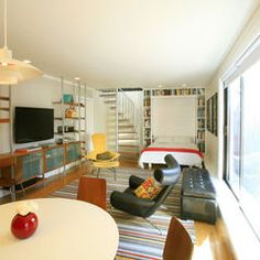 Essential Things For Family Room Kid Friendly Basements 50 Modern Basement Ideas To Prompt Your Own Remodel Home in Essential Things For Family Room Kid Friendly Basements Cama Murphy, Build A Murphy Bed, Murphy Bed Plans, Murphy Beds, Home Remodeling Contractors, Basement Remodeling, Basement Ideas, Modern Basement, Basement Bedrooms