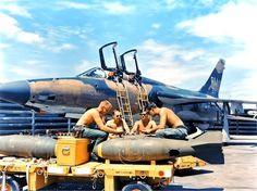 F-105F #63-8351, 354th TFS (355th TFW). Takhli RTAFB.