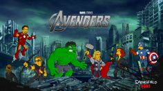 The Avengers #theavengers, #thesimpsons