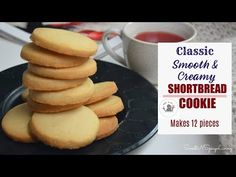 [VIDEO] Small Batch Smooth & Creamy Shortbread Cookie – Easy & Simple Recipe for All Occasion Shortbread Recipe Best, Best Shortbread Cookies, Cheesecake Cookies, Pumpkin Cheesecake, Mexican Food Recipes, Cookie Recipes, Dessert Recipes, Cookie Desserts, Sweet Recipes