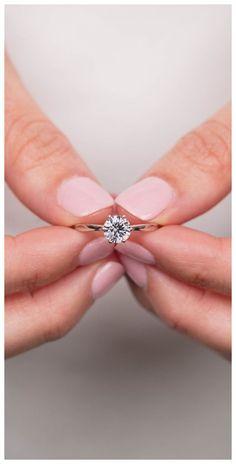 Wedding Rings Simple, Wedding Rings Solitaire, Custom Wedding Rings, Gold Wedding Rings, Engagement Ring Settings, Bridal Rings, Vintage Engagement Rings, Diamond Wedding Bands, Diamond Engagement Rings