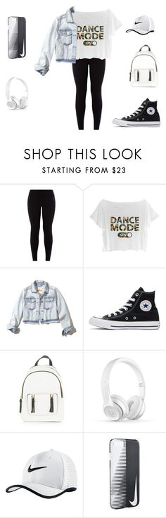 """Başlıksız #34"" by morturtle on Polyvore featuring moda, New Look, Hollister Co., Converse ve NIKE"