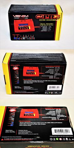 Chargers 56605: Venom Pro 2 Ac Dc Battery Charger For Lipo Lion Life Nicd Nimh. New! -> BUY IT NOW ONLY: $55 on eBay!