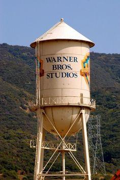 Burbank California; touring the WB studios like a VIP