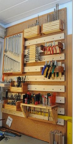 Home and garage organization hacks. Looking for DIY garage storage ideas? Home and garage organization hacks. Looking for DIY garage storage ideas? From garage storage shelv Diy Garage Storage, Garage Organization, Tool Storage, Organization Ideas, Storage Hacks, Organized Garage, Storage Solutions, Organizing, Lego Storage