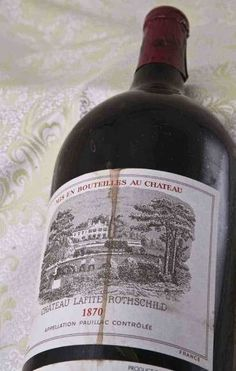 Michael Broadbent over Chateau Lafite Rothschild 1870 - WijnGekken Sangria, Malta, Chateau Lafite Rothschild, Rum, Bordeaux Wine, Wine Vineyards, Wine Collection, French Wine, Vintage Wine