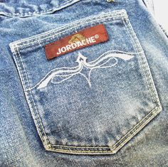 "Back in the '80s when everyone's butt had to have ""Jordache"" on it."