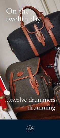 Even the most discerning traveller is catered for with our selection of classic holdalls and suitcases. Discover a collection crafted from timeless natural leathers and our iconic, durable Scotchgrain. Available now in-store and at Mulberry.com.