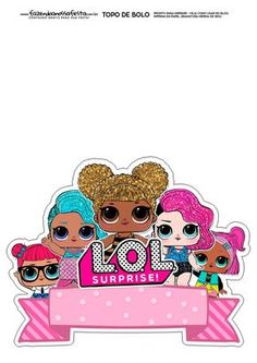 Lol Doll Cake, Cake Templates, Birthday Card Template, Doll Party, Paper Cake, Lol Dolls, Birthday Cake Toppers, 7th Birthday, Stickers