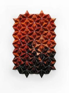 Artist Matt Shlian's Folded Paper Art is Complexity at Its Best #paperart trendhunter.com
