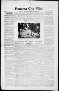 About Panama City pilot.) « Chronicling America « Library of Congress Bay County, Washington County, Panama City Panama, Library Of Congress, Pilot, Florida, America, Beach, The Beach