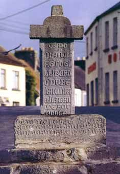 Medieval cross in Cong, Ireland. The Quiet Man was filmed in that town. Cong Ireland, Galway Ireland, The Quiet Man, County Mayo Ireland, Medieval, Ireland Travel, Irish Celtic, Emerald Isle, Filming Locations