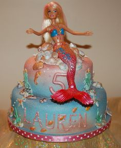 Image detail for -Barbie Mermaid Cake 2 - Braehead Cakes