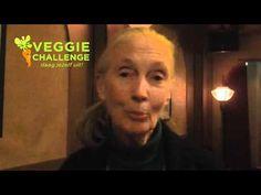 VeggieChallenge 2012: Jane Goodall Las Vegas, Jane Goodall, Plant Based, Healthy Living, Youtube, Quotes, Quotations, Healthy Life, Last Vegas