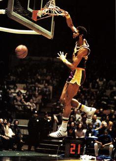 Lew Alcindor - Kareem Abdul-Jabbar - Tall and talented....good combination for NBA center.